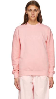 J.W.Anderson Pink Logo Sweatshirt