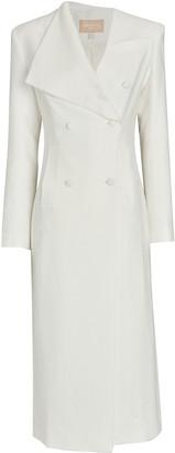 MATÉRIEL Asymmetrical Double-Breasted Coat