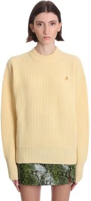 ATTICO Knitwear In Yellow Wool