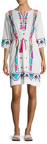 Figue Tessa Cotton Above The Knee Dress