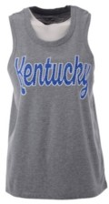 Top of the World Women's Kentucky Wildcats Summer Fling Bling Tank