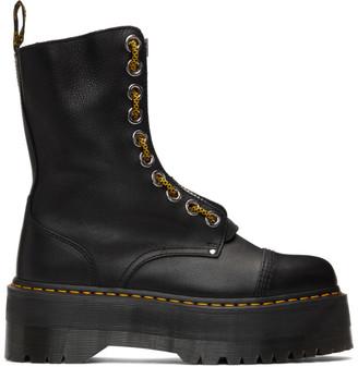 Dr. Martens Black Sinclair Hi Max Platform Boots