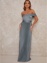 Thumbnail for your product : Chi Chi London Lauren Bridesmaid Dress - Green