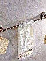 GWY&YFF YFF@ILU Towel Bar Gold Wall Mounted 64*8cm(25.19*3.14inch) Brass Neoclassical