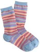 J.Crew Multicolor-striped trouser socks