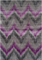 "Dalyn Closeout! Modern Abstracts Chevron Orchid 9'6"" x 13'2"" Area Rug"