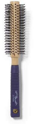 Brush Strokes Medium Wood Round Brush