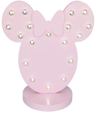 Disney Minnie Mouse Marquee Light Bedding