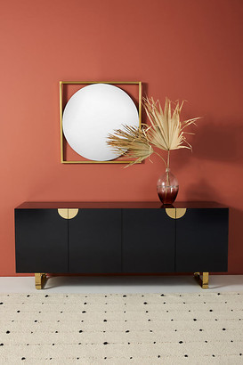Anthropologie Lacquered Glinda Sideboard By in Black