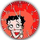 "Rusch Betty Boop Wall Clock 10"" Will Be Nice Gift and Room Wall Decor W238"