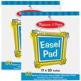 Melissa & Doug Deluxe Easel Pad 2-Pack Bundle
