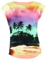 Little Marcel Multicolor Coral T-shirt Talifo.