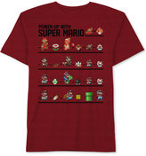 Nintendo Power-Up Super Mario T-Shirt, Big Boys (8-20)