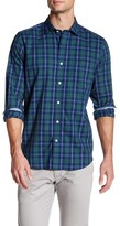 Nautica Classic Fit Spread Collar Plaid Shirt