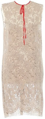 Gucci Grey Lace Dress for Women
