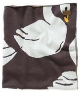 Kip & Co Black Swanette Blanket