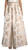 Eliza J Floral Textured Ball Gown Skirt