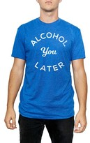 Kid Dangerous Men's Alcohol You Later Graphic T-Shirt