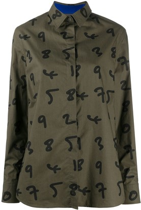 Paul Smith Number Print Shirt