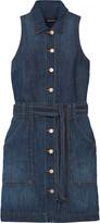 J Brand Caressa denim mini dress