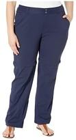 Columbia Plus Size Saturday Trailtm II Convertible Pant (Dark Nocturnal) Women's Casual Pants