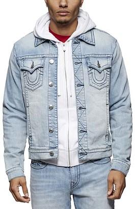 True Religion Men's Denim Jackets GOML - Glass Blue Denim Trucker Jacket - Men