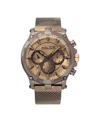 Police Unisex Adult Analogue Quartz Watch with Textile Strap PL15920JSMBN.20MM