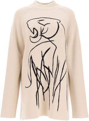 Kenzo Maxi Sweater Tiger