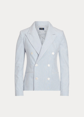 Ralph Lauren Cotton Seersucker Blazer
