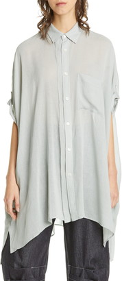 Y's by Yohji Yamamoto Oversize Drape Sleeve Shirt