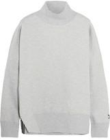 adidas Cotton-blend Jersey Sweatshirt - Gray