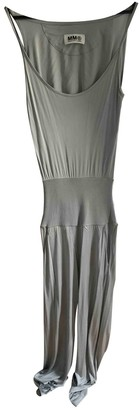 Maison Margiela Silver Jumpsuit for Women