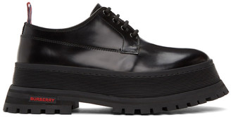 Burberry Black Jefferson Chunky Derbys