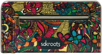 The Sak Sakroots Print Coated Canvas Slim Wallet