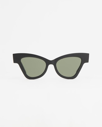 Le Specs Women's Black Cat Eye - Sustainable Hourgrass - Size One Size at The Iconic