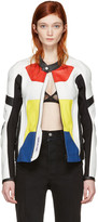 Alyx Multicolor Leather Moto Jacket