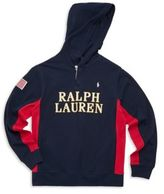 Ralph Lauren Toddler's, Little Boy's & Boy's Hooded Rugby Hoodie