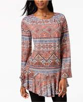 Style&Co. Style & Co Flounce-Hem Tunic, Created for Macy's