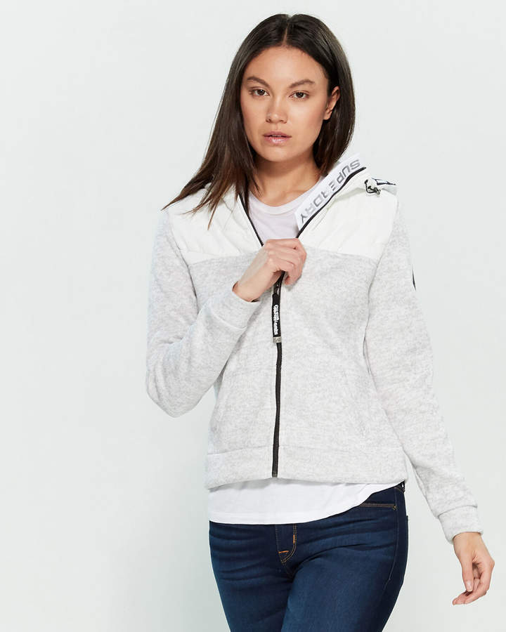 Superdry Hybrid Hooded Pullover Jacket