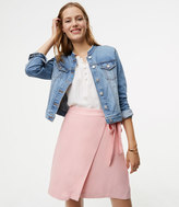 LOFT Fluid Wrap Skirt