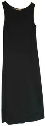CNC Costume National Black Cotton Dress for Women