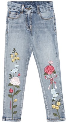 MonnaLisa Embroidered jeans
