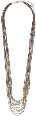 Brunello Cucinelli Multi-Bead Layered Necklace