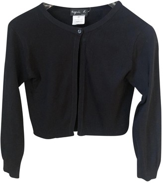 agnès b. Black Wool Top for Women