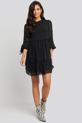 Trendyol Mini Mesh Sleeve Dress