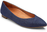 Vionic WALK.MOVE.LIVE Vionic® Caballo Denim Pointed-Toe Slip-On Flats
