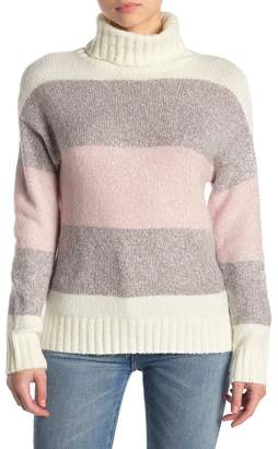 Olivia Sky Long Sleeve Turtleneck Sweater