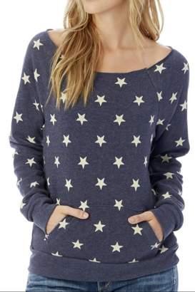 Alternative Apparel Soft Star Sweatshirt