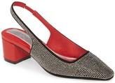 Jaggar Footwear Diamante Slingback Pump