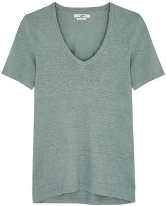 Etoile Isabel Marant Kranger sage linen T-shirt
